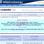 Nile Cruise Bargains – New Page Added