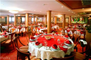 Domina Prestige Nile Cruise Dining Room
