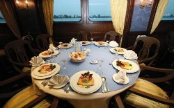 MS Grand Rose Nile Cruise Restaurant