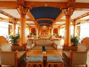 MS Kasr Ibrim Lake Nasser Cruise lounge