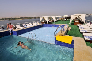 Viking Princess Nile Cruise Ship Pool