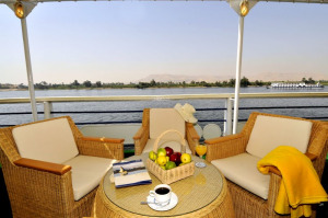 Viking Princess Nile Cruise Ship Sundeck